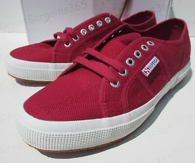 Superga 2750 Cotu Classic Canvas Deck Shoes Plimsoll Trainers UK 8 9 9.5 10 New