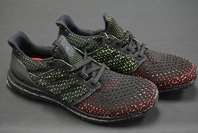 46802e9df977f  Aq0482  New Men s Adidas Originals Ultraboost Clima Black Solar Red Adm244