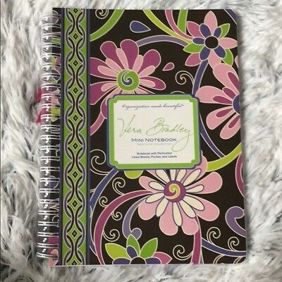 Vera Bradley Mini Notebook in Purple Punch Personal Journal