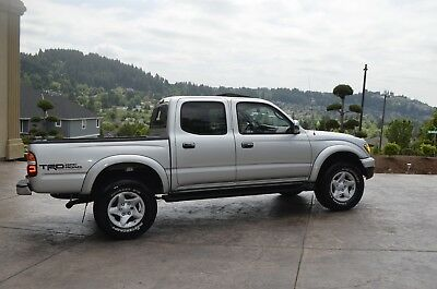 2003 Toyota Tacoma Trd Off Road Pkg Super Low Miles  (4X4) 2003 Toyota  Tacoma Double Cab Limited Pkg (4X4) ONLY 74,216 MILES