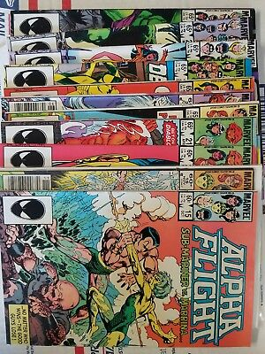 Alpha Flight 15-97 Lot of 60 C disc. 4#s Free Priority Box Shipping