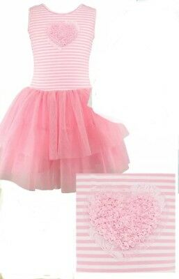 Popatu Girls' Dress , Pink , 2T/3T