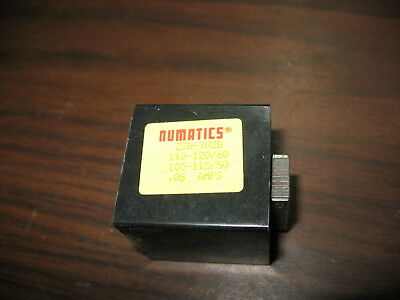 New No Box Numatics  228-702B 120V Solenoid Valve Coil