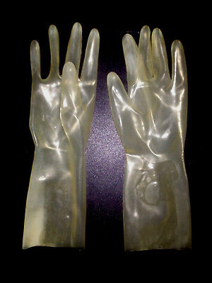 Latexhandschuhe transparent  G 8  0,42mm  glooves