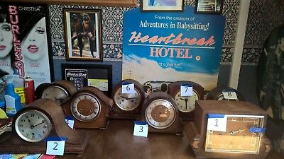Mantle Clocks X 8  For Restoration or Spare / Repair