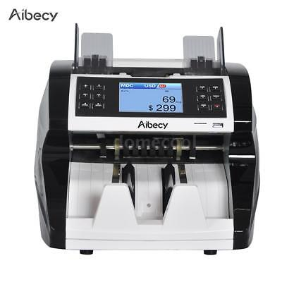 Auto Currency Counter Count Detector Money Fast Banknote Bill Cash Machine U8F3