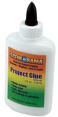 NEW Woodland Project Glue 3 oz Train Scener N/HO SP4142