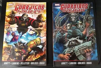 Guardians Of The Galaxy Volume 1 And 2 Tpb Set $69.98 Msrp Abnett Lanning New