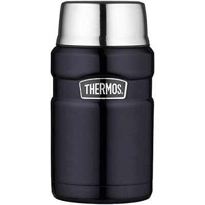 Thermos Stainless King 24 Ounce Food Jar Midnight Blue