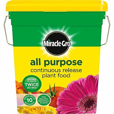 Miracle Gro Grow Continuous Slow Release All Purpose Plant Food 2Kg Tub