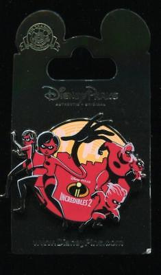 Disney Pixar Incredibles 2 Logo Disney Pin