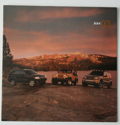 JEEP Full Range 2003 dealer brochure - French - Canada ST1002000218