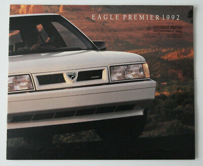 EAGLE PREMIER 1992 dealer brochure - French - Canada ST1002000218