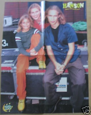 Hanson / No Doubt DOUBLE SIDED POSTER Gwen Stefani Isaac Taylor Zac