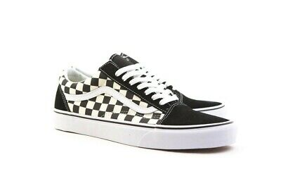 Vans Old Skool Lite (Checkerboard) BlackWhite (VN0A275W5GX)
