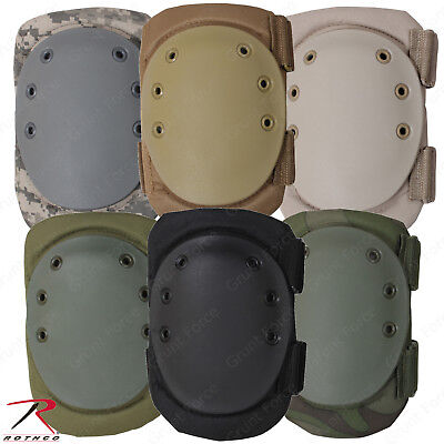 Rothco Tactical SWAT Protective Knee Pads - Solid & Military Camo Colors