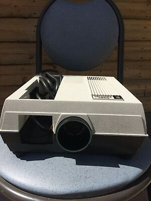 Hanimex Rondette 1000 S Slide Projector With instructions, Box and 3 slide trays