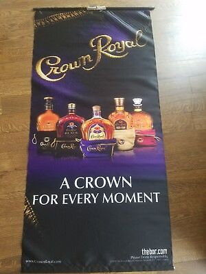 Crown Royal wall banner
