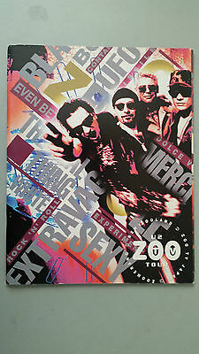 U2 Zoo Tv  Tour Programme New Zooland Japan