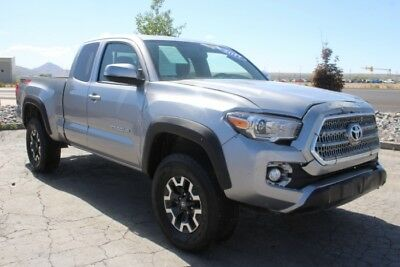 2017 Toyota Tacoma SR5 4WD Salvage Wrecked Repairable 2017 Toyota Tacoma SR5 4WD Salvage Damaged Repairable! Low Miles! Wont Last!