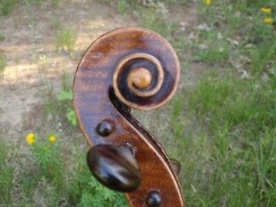 Fine Antique Italian Label 4/4 Violin Ready To Play