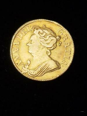 1712 Great Britain Gold Guinea England