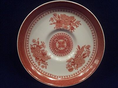 SPODE FITZHUGH RED, Red Flowers & Band: Demitasse saucer - $5.00 ...