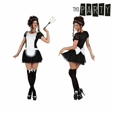 Costume per Adulti Th3 Party Serva Taglia:XL Th3 Party
