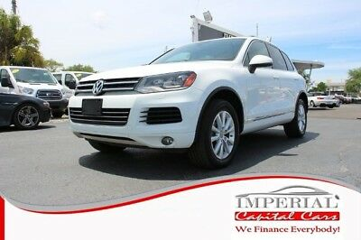 Touareg VR6 Sport SUV 4D WHITE Volkswagen Touareg with 85,165 Miles available now!
