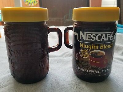 Nescafe Instant Coffee Mugs Lids Nos 100% PNG coffee