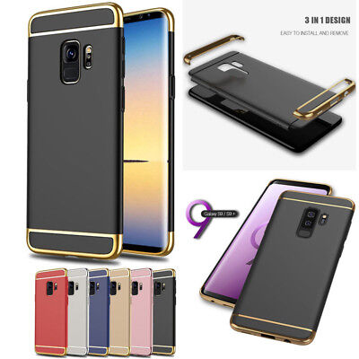Electroplate Case Cover For Samsung Galaxy S9/Plus Ultra Thin Camera Protector