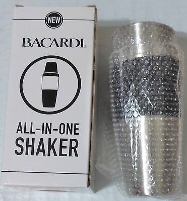 NEW Bacardi All- In- One Shaker/Mixer