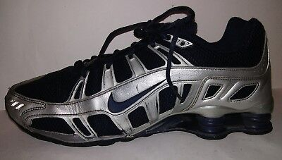 07429417dd1 Nike Shox Turbo 3.2 SL Men s Running Shoe 455541-440 Size 10 Blue Silver