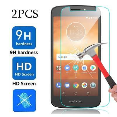 For Motorola Moto E5 Play/Cruise 2*9H Clear Hard Tempered Glass Screen Protector
