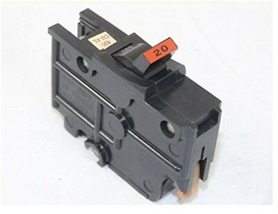 NA20 Federal Pacific FPE 20 AMP STAB-LOK 1 POLE Circuit Breaker Switch Power