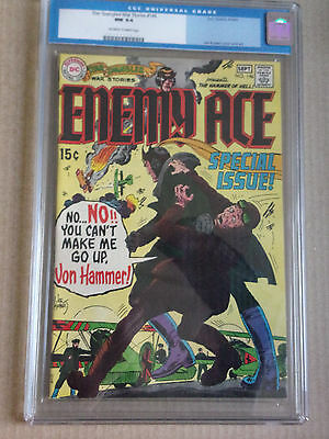 """Star Spangled War Stories #146 CGC 9.4 """"ENEMY ACE"""""""