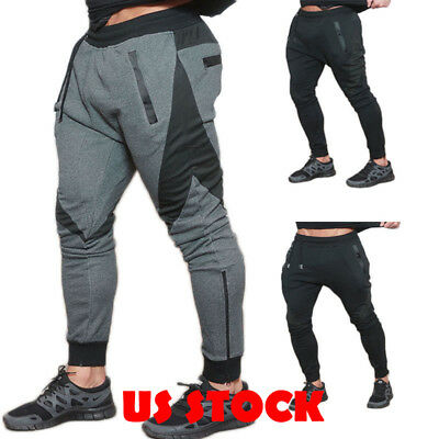 Men Trousers Sweatpants Harem Pants Trouser Casual Joggers Sportwear Dance Baggy