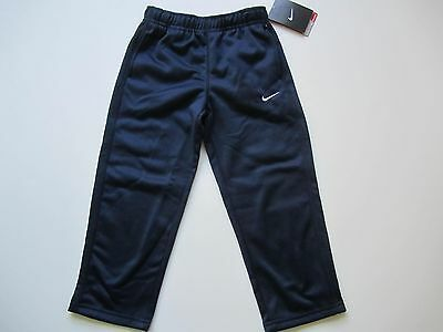 554ca5f2ce91 NWT NIKE THERMA-FIT Small Boys Athletic Track Sweat Pants Navy Blue Size 4