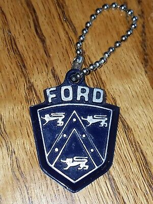 Vintage Ford Dealer keychain