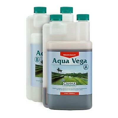 Canna Aqua vega A & B hydroponic nutrients grow root nutrient 1L