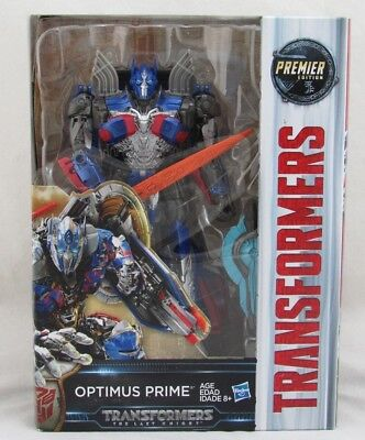 Transformers The Last Knight Optimus Prime Voyager Premier Edition, Hasbro, New
