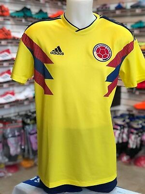 Adidas Colombia Home soccer Jersey 2018 world cup SHIPS priority mail abb70787f