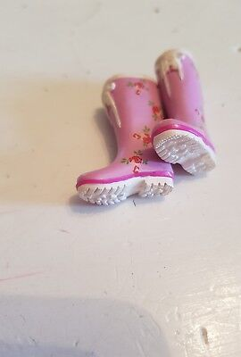 re-ment blythe doll floral boots collectable  rare