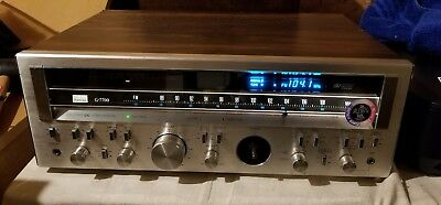Vintage Sansui G-7700 120Wpc Stereo Receiver - In Good Working Condition.