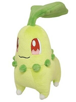 Sanei Pokemon All Star Collection PP40 Chikorita Plush Doll (S) New Japan