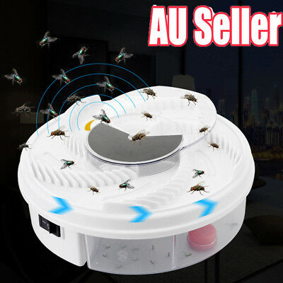 USB Electric Fly Trap Artifact with Trapping Food Automatic Flycatcher S4