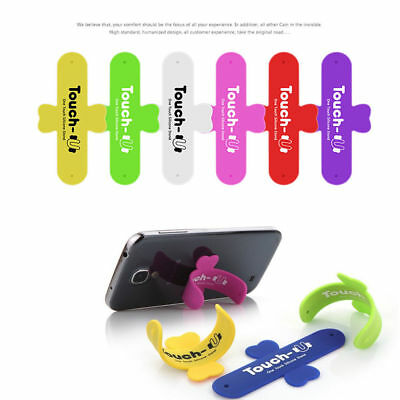 Hot Touch U Type Silicone Universal Stand Mount Holder For Apple iPhone Samsung