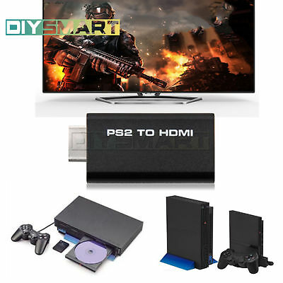 PS2 to HDMI Audio Video AV Adapter Converter w/3.5mm Audio Output HDTV AU