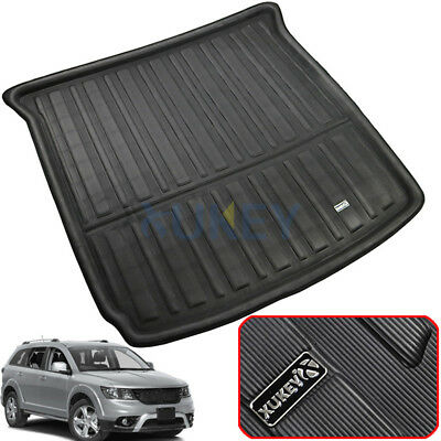For Dodge Journey Fiat Freemont 09-18 Boot Cargo Liner Rear Trunk Floor Mat Tray