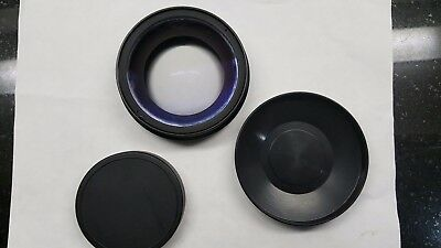 Century, fisheye lens, adapter, C93713, w/case bag